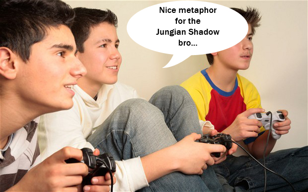A2CDDM boys playing a video game. Image shot 2006. Exact date unknown.